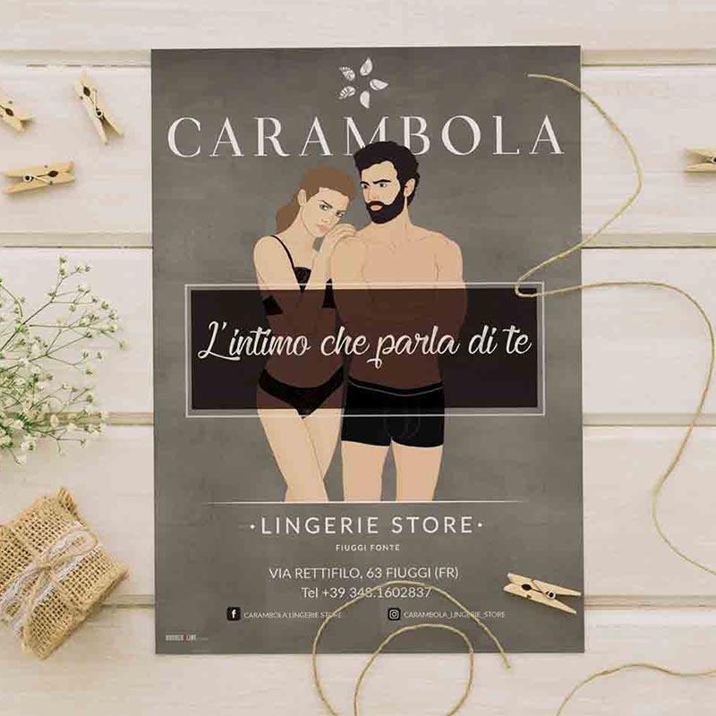 flyer-carabola-lingerie-store